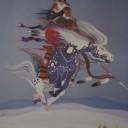 Comanche Antelope Warrior